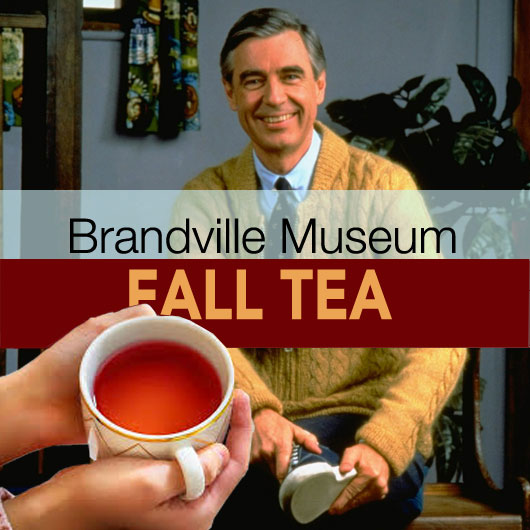 Fall Tea at Brandville Museum September 10, 2020